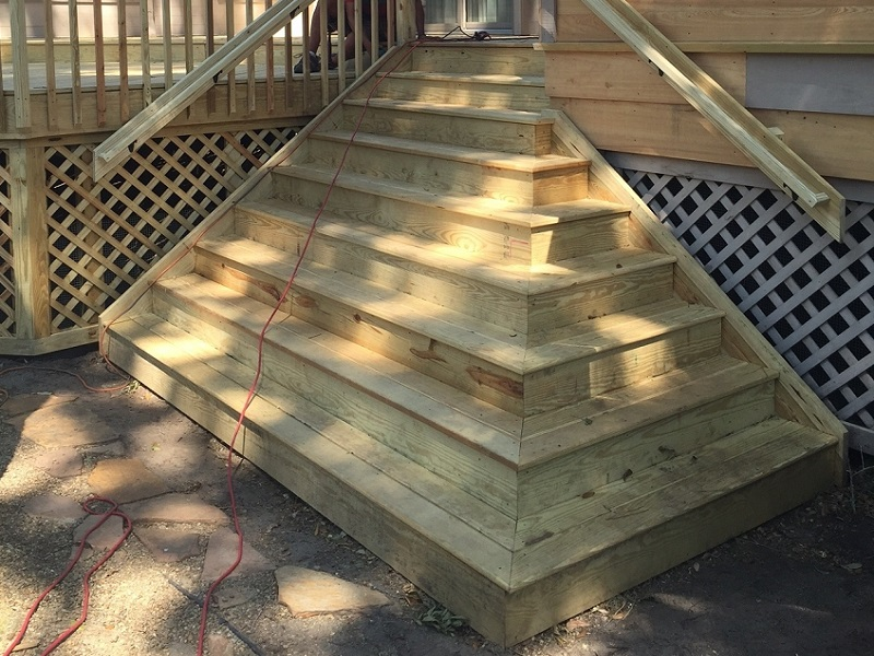 Deck additions, Berry Remodeling