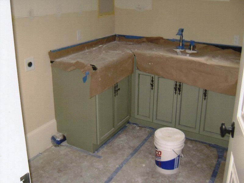 Bathroom Cabinets, Berry Remodeling