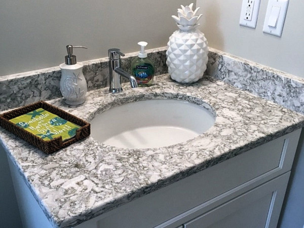 Berry Remodeling 179 Evian Hilton Head Remodel bath marble counter