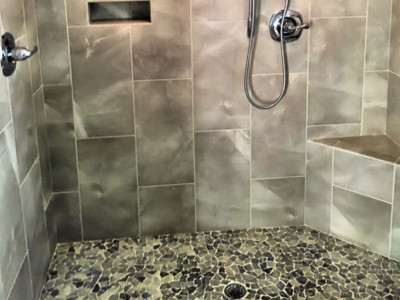 Berry Remodeling 179 Evian Hilton Head Remodel shower marble tile