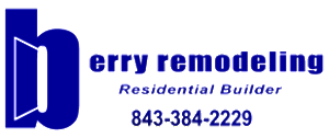 Berry Remodeling 843.384.2229 Logo