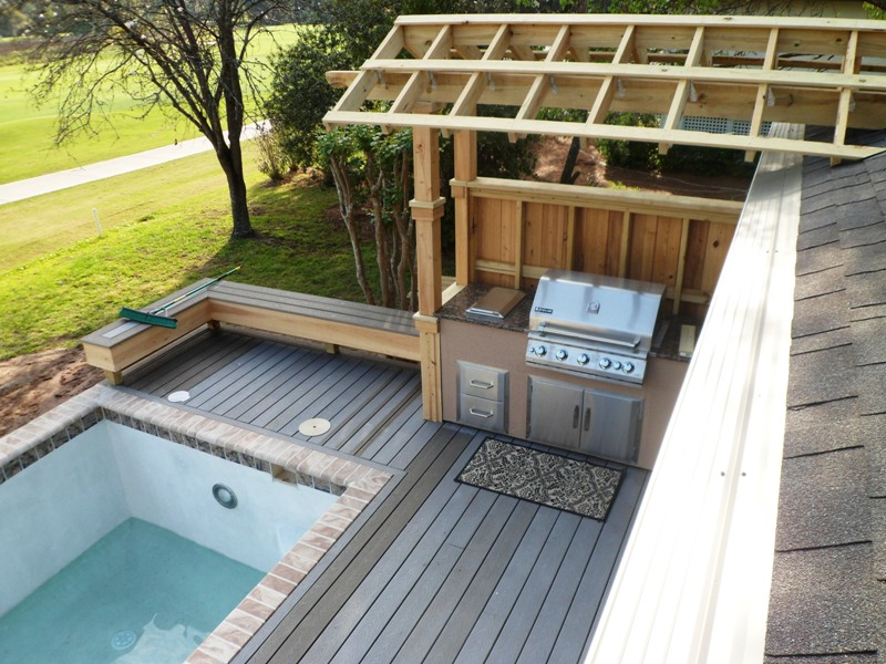 Deck Construction Moss Creek, Berry Remodeling